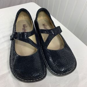 Alegria Women MaryJane Comfort Shoe Black Sz 41